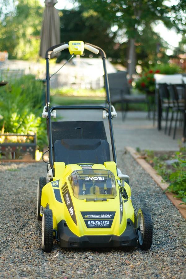 Favorite Outdoor Tool: RYOBI 40V Brushless Mower