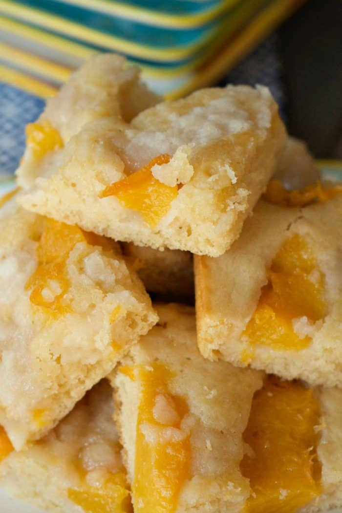 Moist Peach Kuchen Recipe