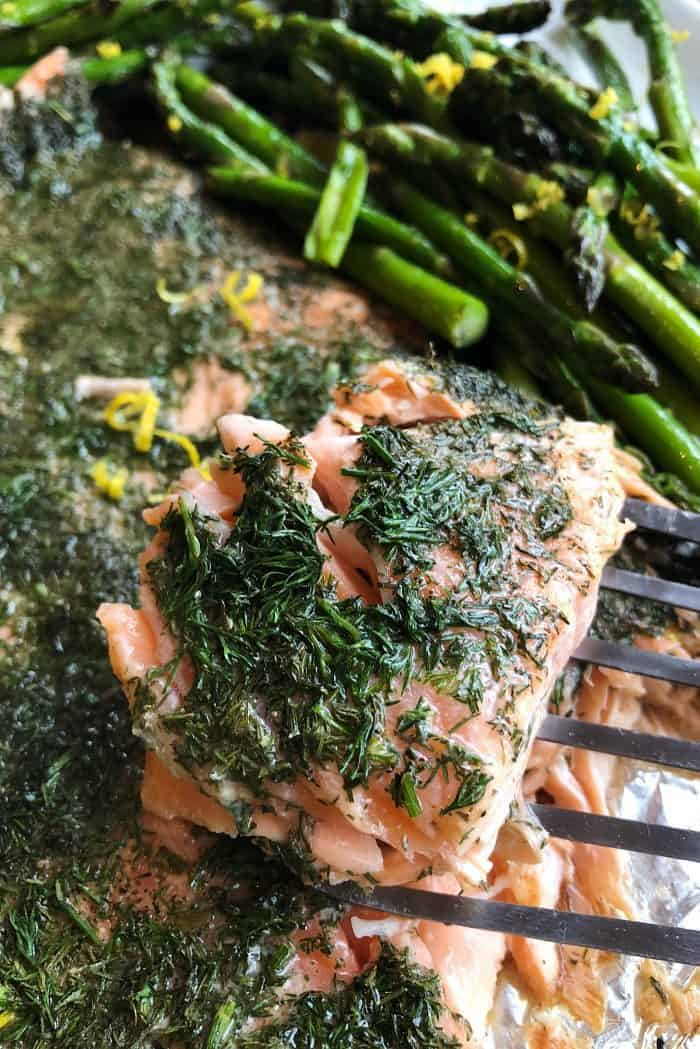 Grilled Lemon Dill Salmon Recipe