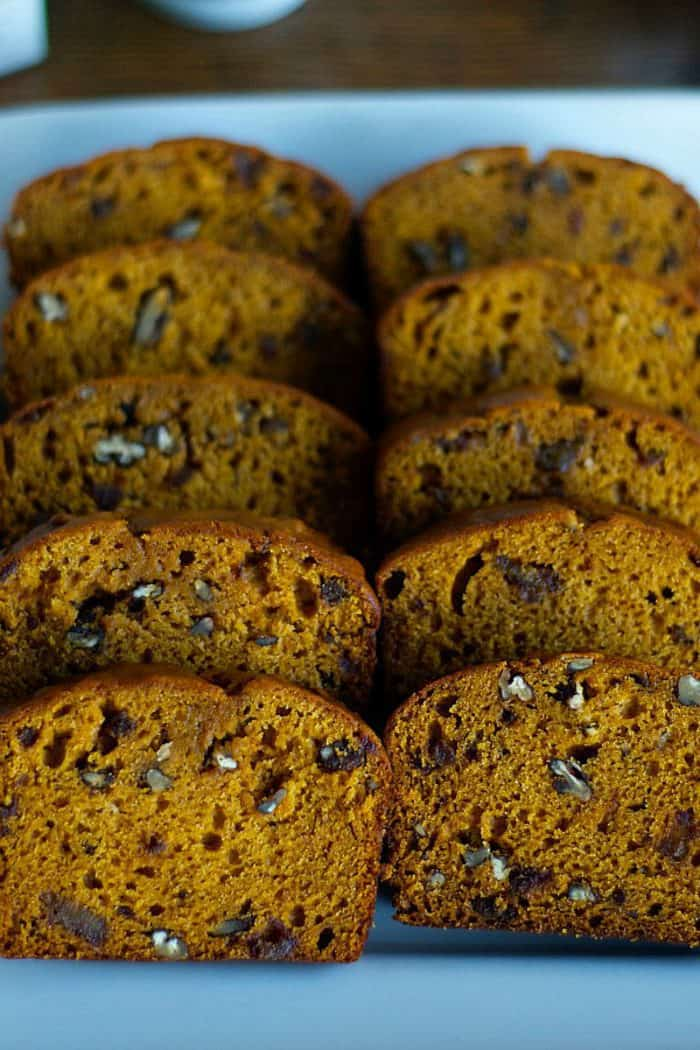 Pumpkin Date Bread
