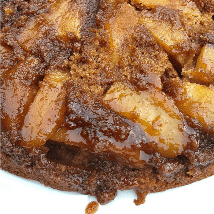 Best Salted Caramel Apple Cake