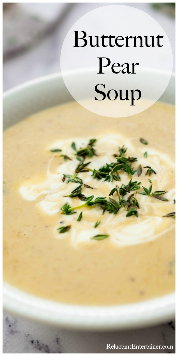 Butternut Pear Soup
