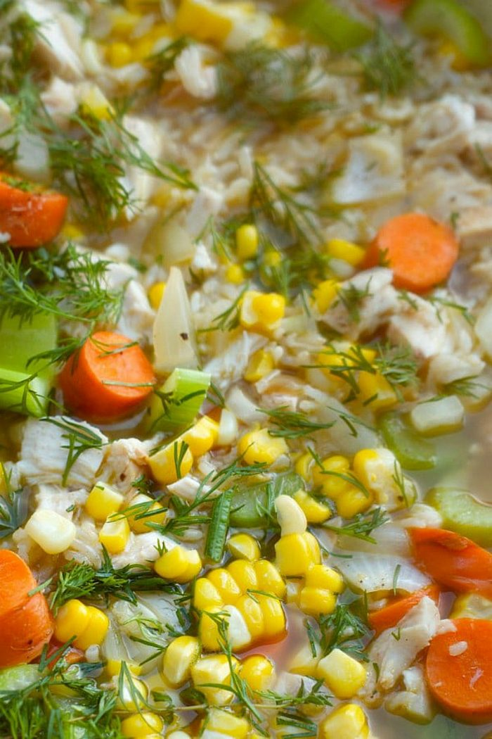 Best Chicken Rice Soup Recipe