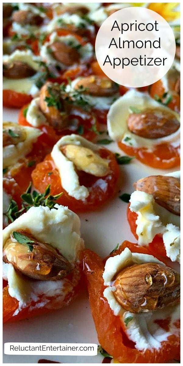 apricot almond goat cheese appetizer