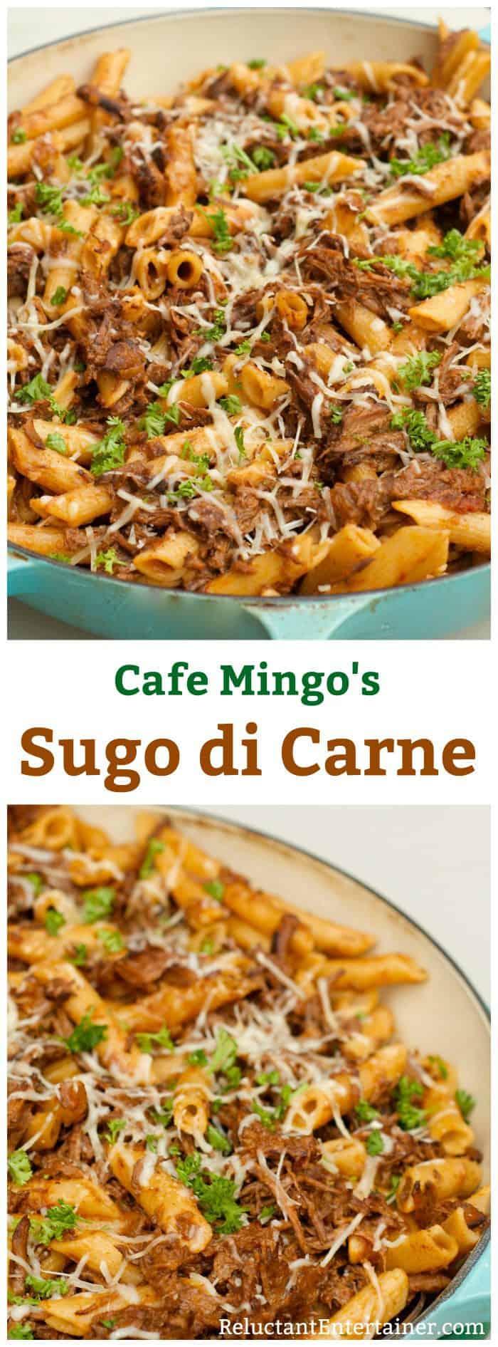 Cafe Mingo's Sugo di Carne