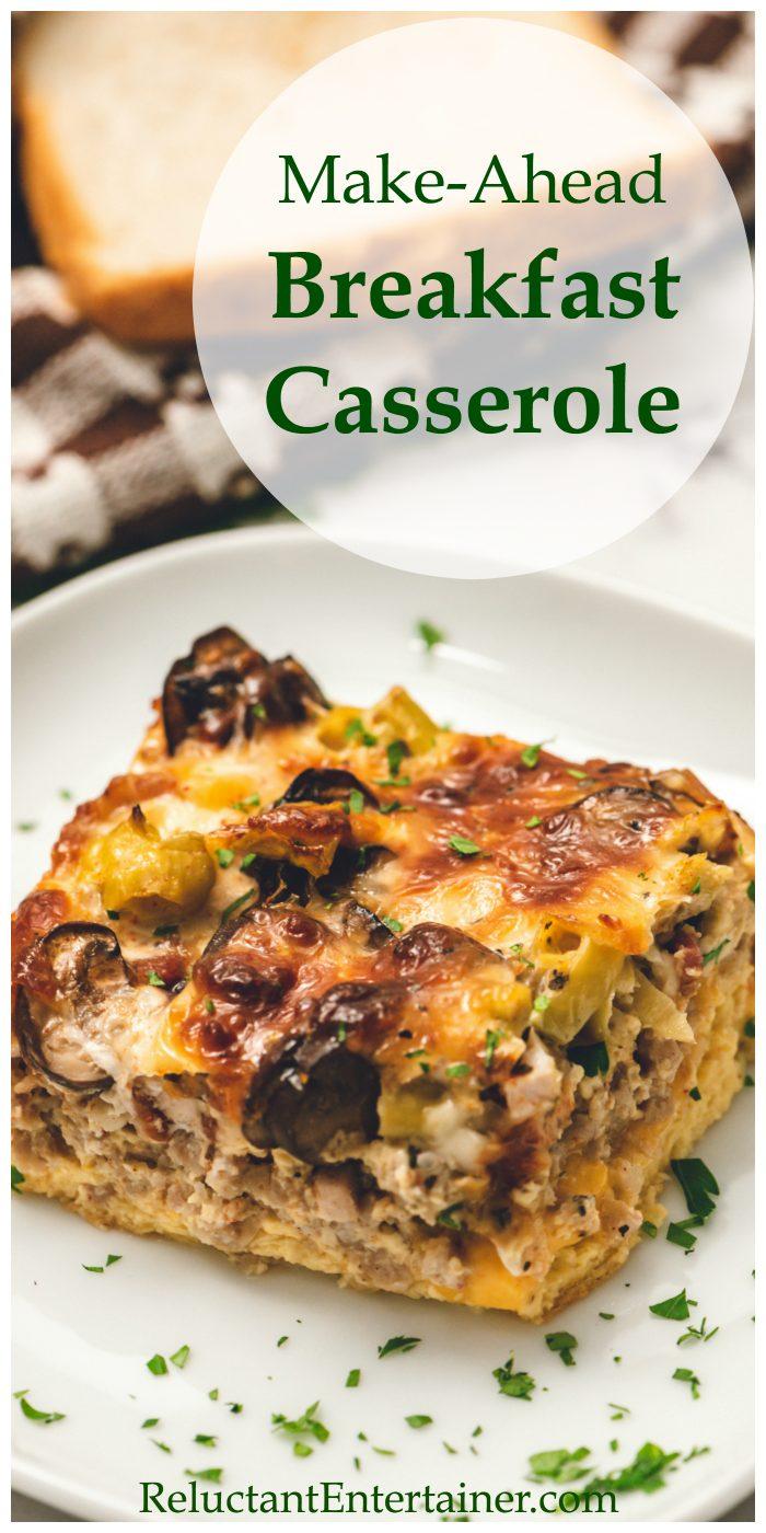 Make-Ahead Breakfast Casserole Recipe