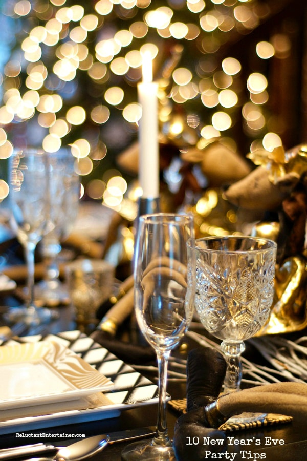 10 New Year's Eve Party Tips