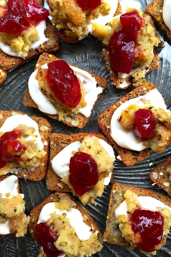 Cranberry Stuffing Appetizer