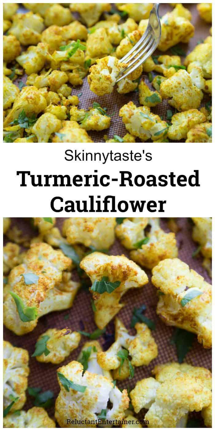 Skinnytaste's Turmeric-Roasted Cauliflower Recipe