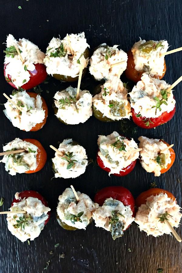 Tuna-Stuffed Peppers Appetizer