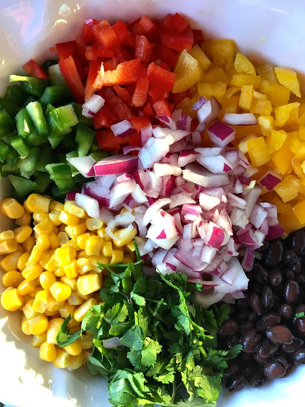 Black Bean Salad Stuffed Endive Ingredients