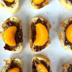 Orange Nutella Bruschetta