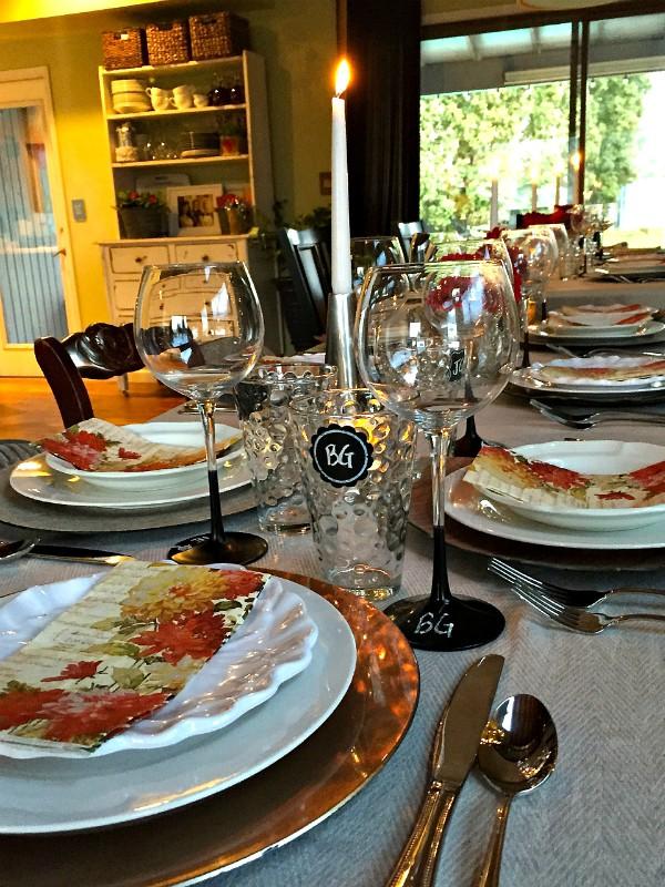 Dinner Party Flow + Menu + Potato-Fennel Gratin Recipe