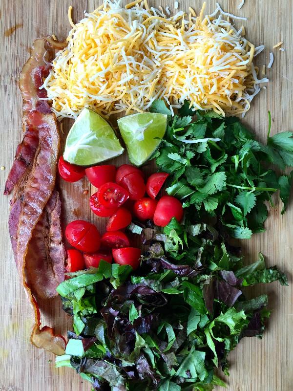 Bacon Shredded Pork Tacos