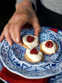 Raspberry Lemon Cream Galettes   ReluctantEntertainer