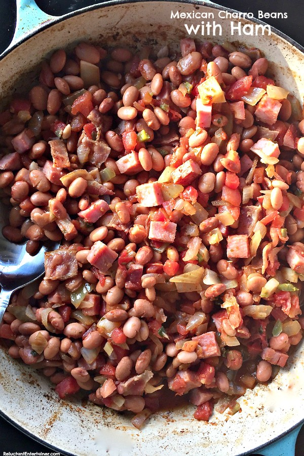 Mexican Charro Beans with Ham