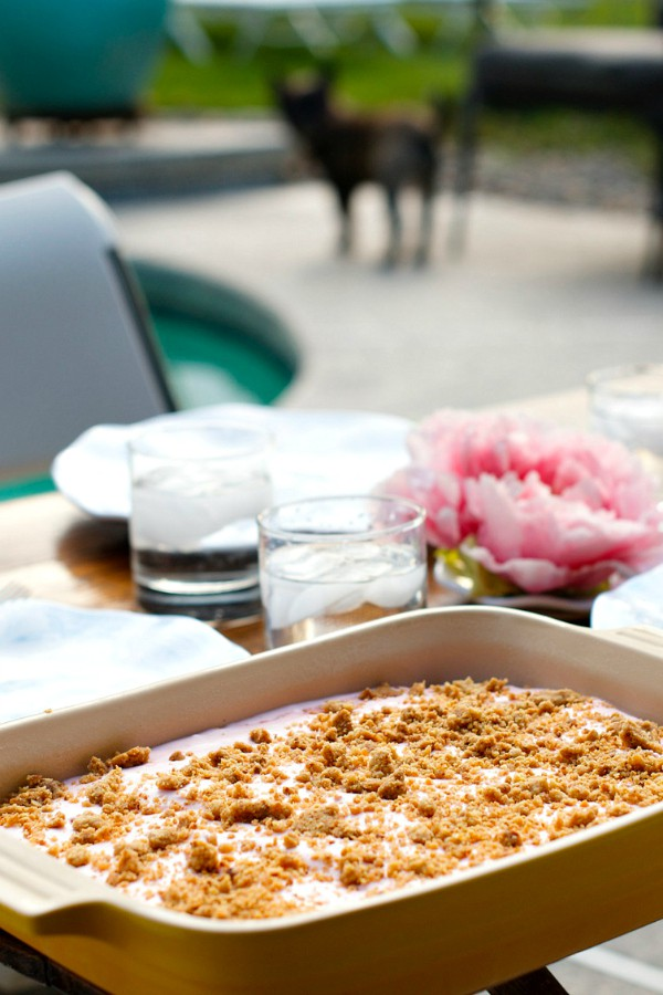 Intimate Mother's Day Dessert: Frosty Raspberry Squares