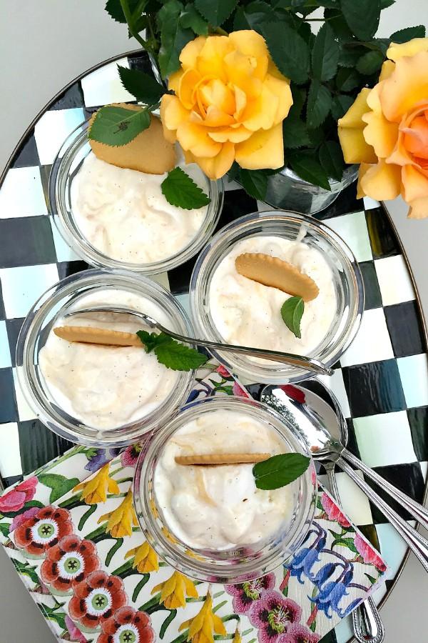 Lemon Curd Ice Cream | ReluctantEntertainer