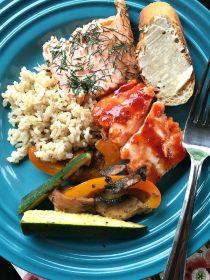 Barbecue Salmon Recipe
