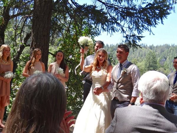 A river wedding