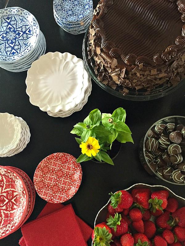 Dessert Graduation Party