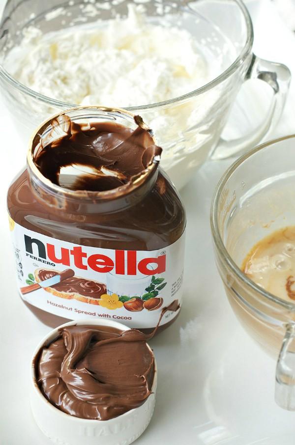 No-Churn Nutella Ice Cream