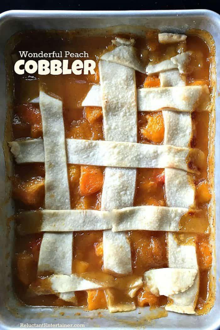 Wonderful Peach Cobbler Recipe