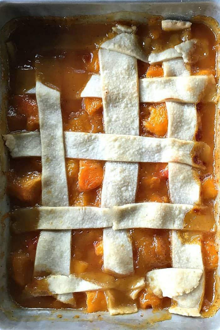BEST Wonderful Peach Cobbler