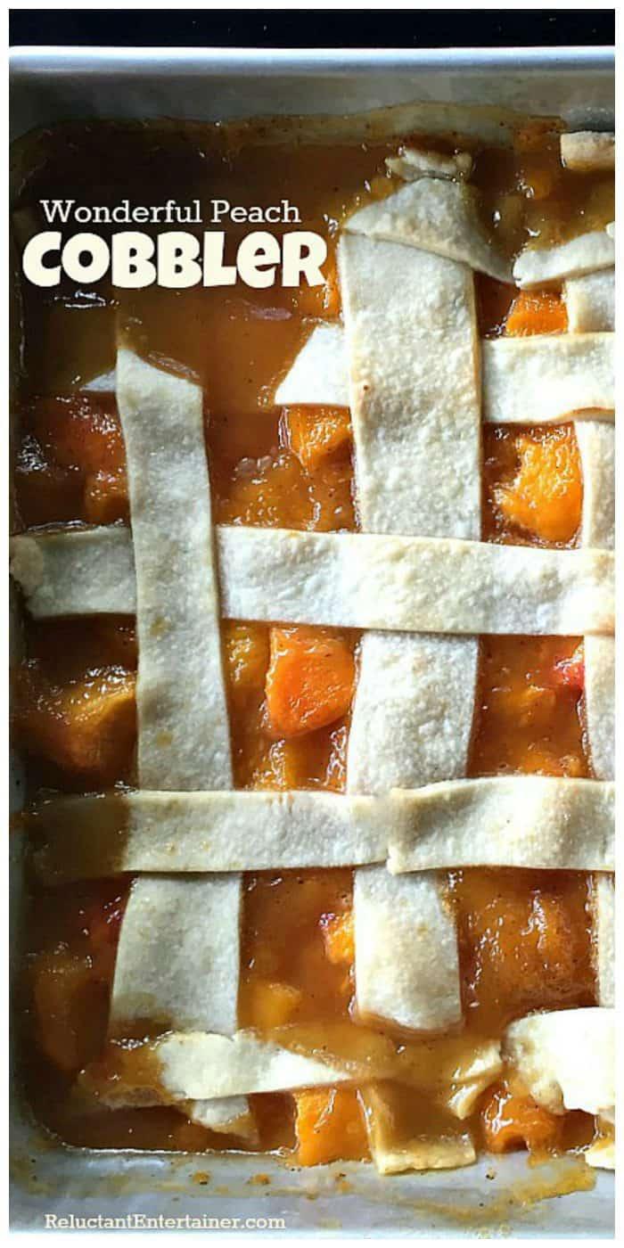 Wonderful Peach Cobbler