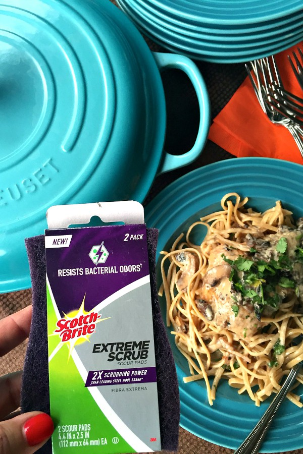Chicken Marsala | ReluctantEntertainer.com #CleanFeelsGood