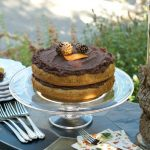 Peanut Butter Cake with Chocolate Frosting | ReluctantEntertainer.com