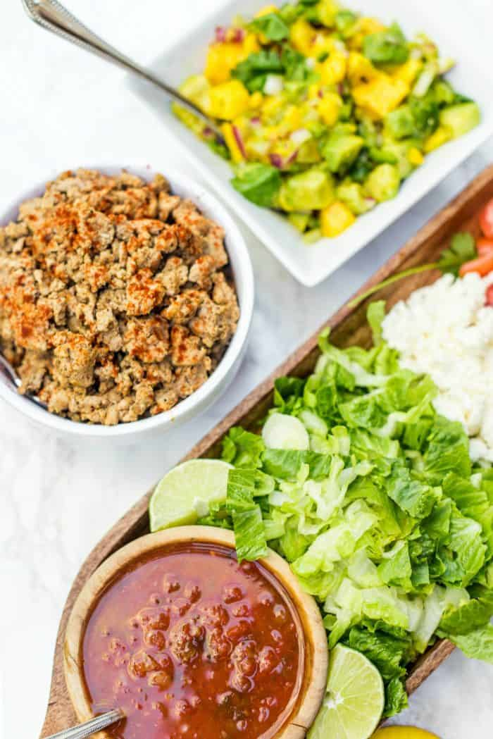 Taco Salad with Mango Salsa Recipe
