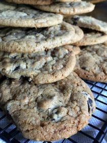 Chocolate Toffee Cookies | ReluctantEntertainer.com