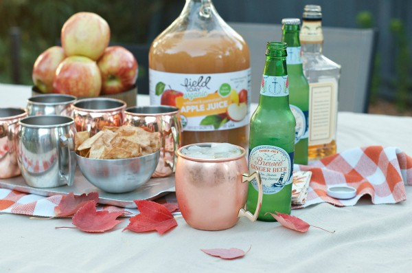 Easy Apple Moscow Mule at Reluctant Entertainer