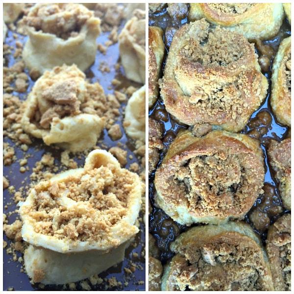 Cookie Caramel Rolls