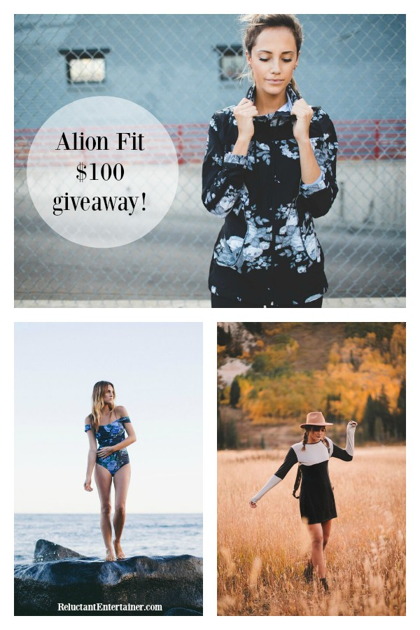 Albion Fit Fall Giveaway at ReluctantEntertainer.com