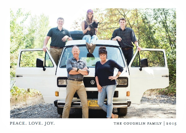 Minted Coughlin Christmas Card 2015