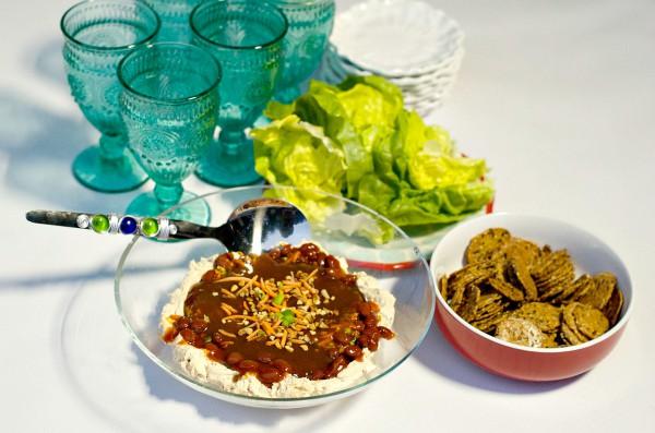 Asian BBQ Bean Dip
