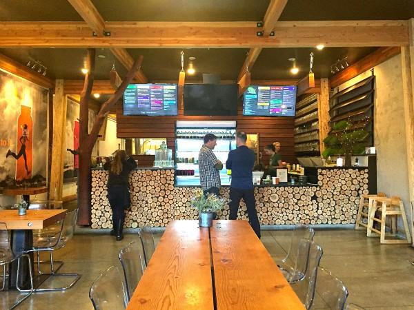 NW Raw Juice Bar, Ashland, Oregon