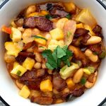 Enjoy this Bacon Pineapple Chili recipe with only 7 ingredients, easy enough to make and serve in 30 minutes,