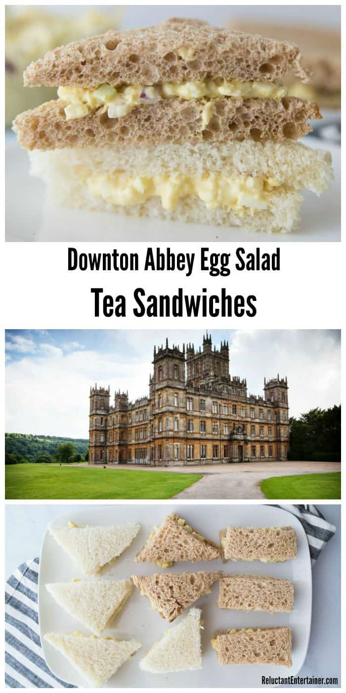 Downton Abbey Egg Salad Tea Sandwiches Recipe