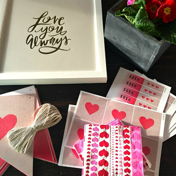 Minted Valentine's Day Party with Strawberry Cupcakes with Ganache