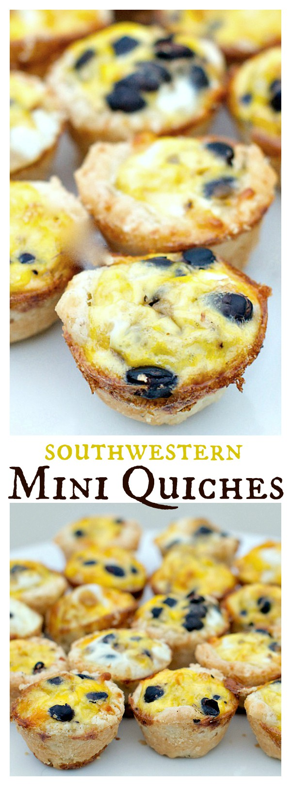 Southwestern Mini Quiches