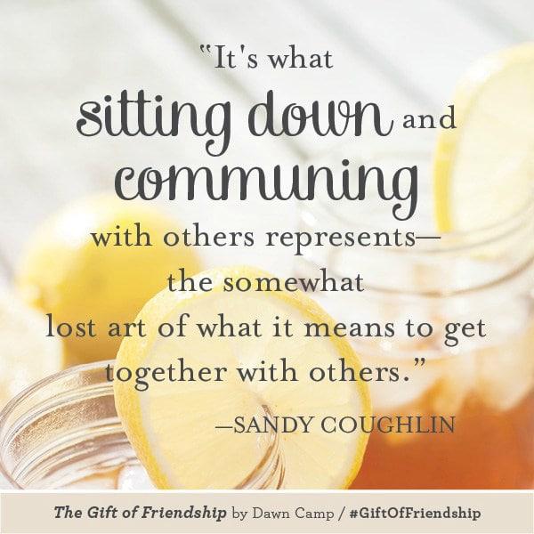 The Gift of Friendship #giftoffriendship