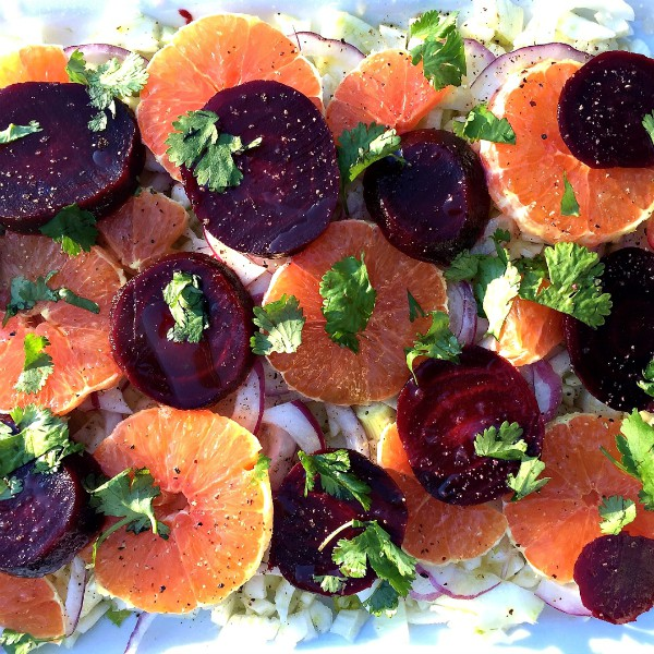 Orange Beet Fennel Salad