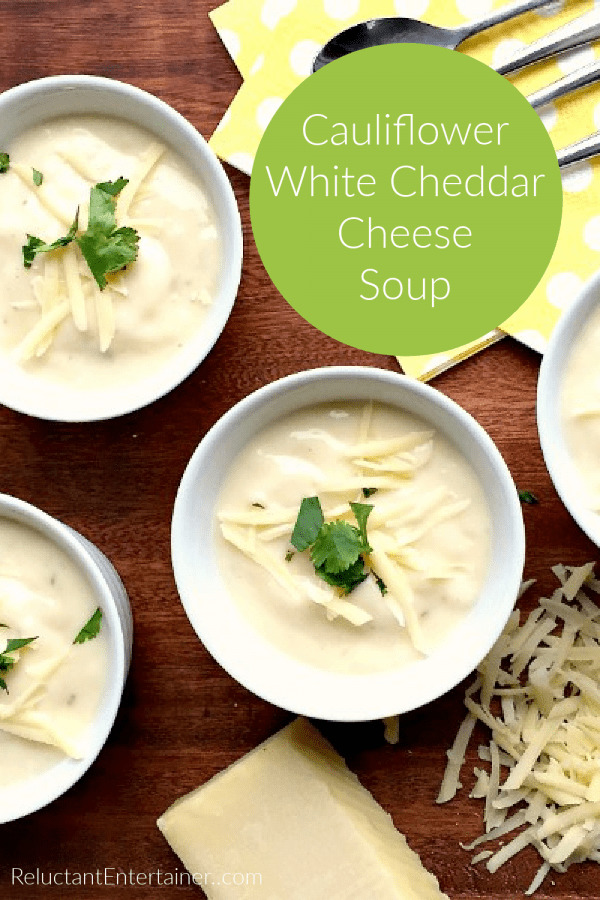 Cauliflower White Cheese Soup