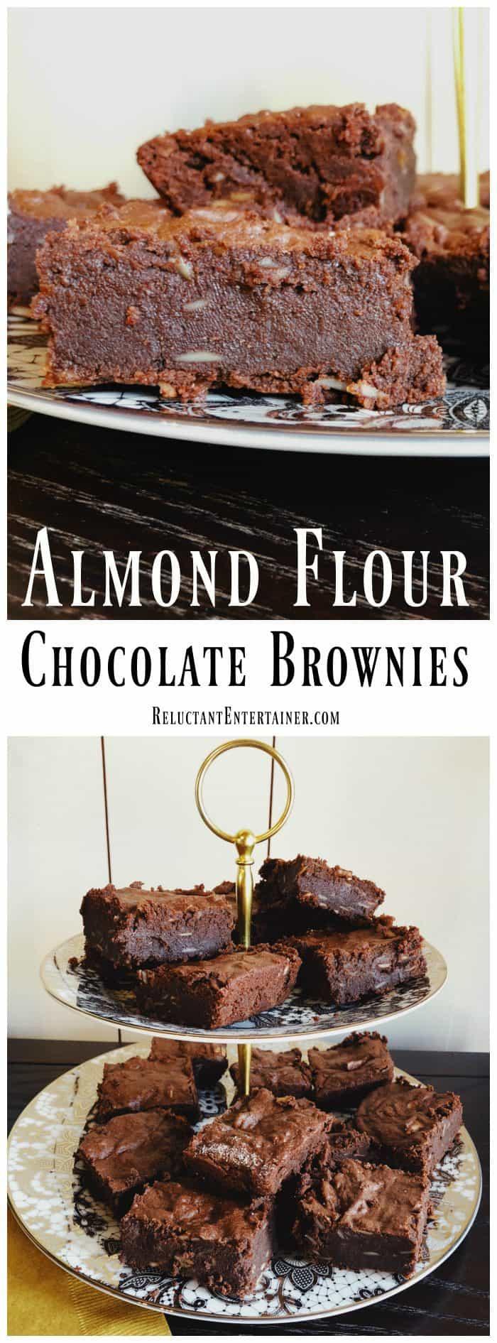 Almond Flour Chocolate Brownies