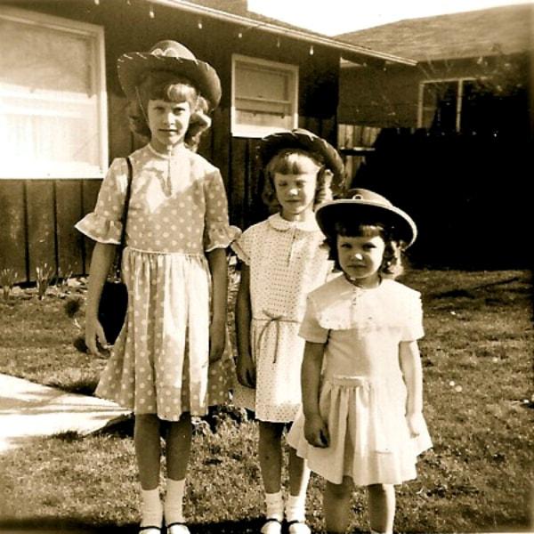 Easter sisters 1969