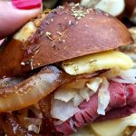 Hot Pastrami Sliders