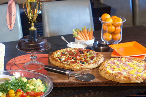 Basketball Pizza Party